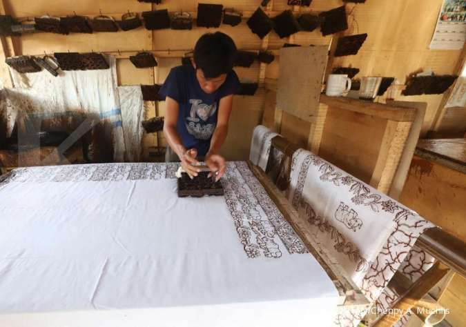 Motif Badak menjadi andalan batik Banten