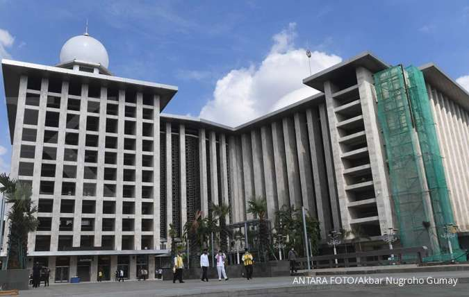 Masjid Istiqlal akan potong 36 ekor hewan kurban Sabtu besok