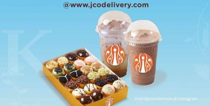 Promo J.CO mingguan terbaru hingga 17 Oktober 2021, khusus pembelian delivery