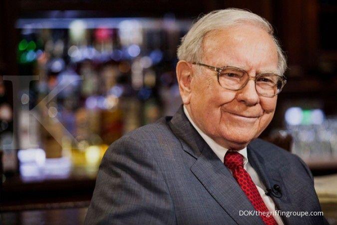 Punya uang tunai Rp 2.000 triliun, Warren Buffet bisa beli hampir semua perusahaan