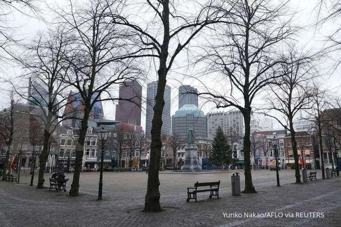 Gara-gara lockdown, ekonomi Belanda merosot pada kuartal I