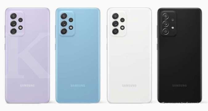 Peningkatan fitur kamera serta kapasitas baterai membuat harga HP Samsung A72 lebih tinggi dari Samsung A52.