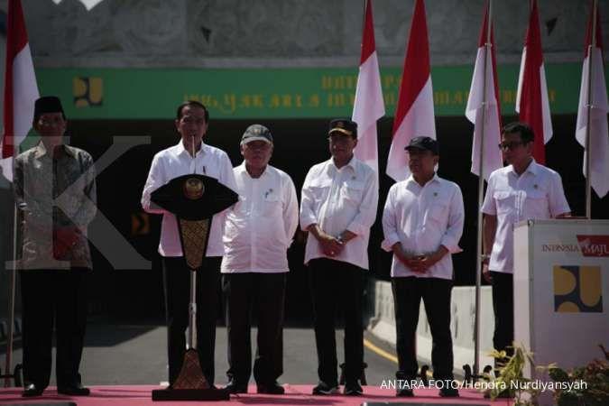 Jokowi berharap peresmian Underpass YIA dapat ungkit ekonomi masyarakat