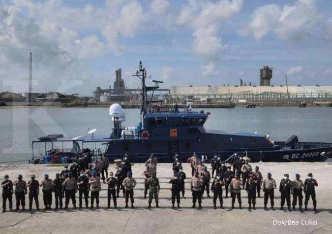 Perkuat sinergi, Bea Cukai dan Polairud Baharkam Polri gelar patroli laut bersama