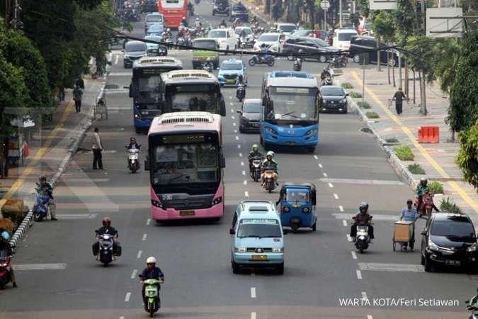Ada pelantikan presiden, simak rute bus Transjakarta yang dialihkan hari ini