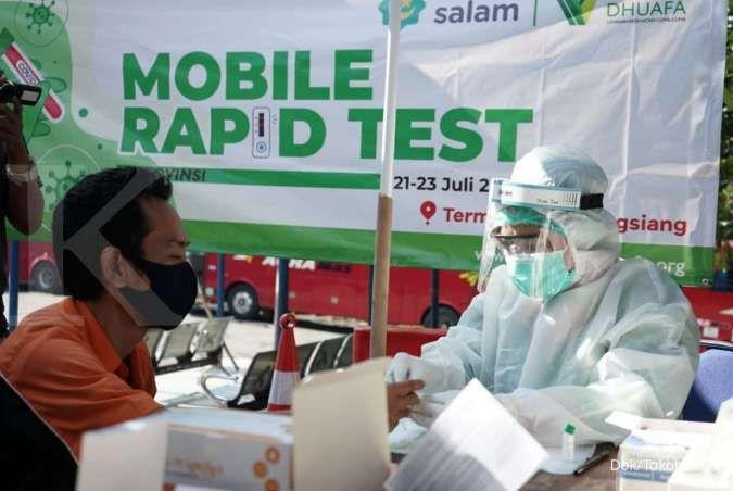 Tarif mulai Rp 85.000, ini 3 lokasi yang sediakan layanan rapid test