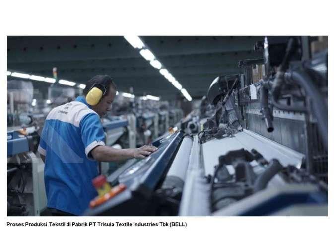 Trisula Textile Industries (BELL) tebar dividen Rp 0,07 per saham, simak jadwalnya