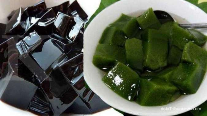 Luar biasa! Cincau hitam dan hijau efektif membantu menurunkan kolesterol tinggi