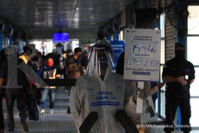 Update corona di Jakarta Senin 20 Juli positif 16.899, sembuh 10.598 meninggal 745
