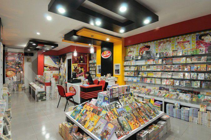 Gramedia Menata Rak Bisnis Toko Buku