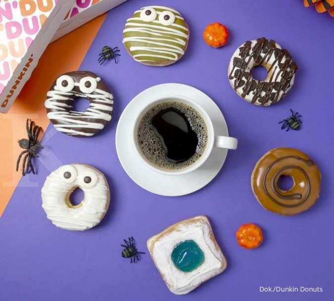 Promo Dunkin Donuts 25 Oktober 2021, Happy Monday Beli 8 Gratis 4 Donuts & 1 Minuman