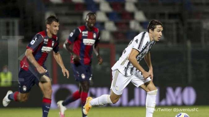 Juventus vs Crotone: Bekuk Squali 3-0, Bianconeri masih tempel Rossoneri