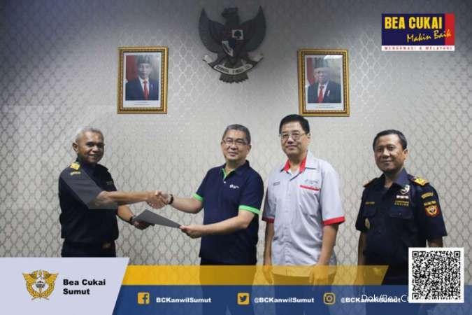 Bea Cukai Sumatra Utara terbitkan perizinan KITE Pembebasan, apa itu?