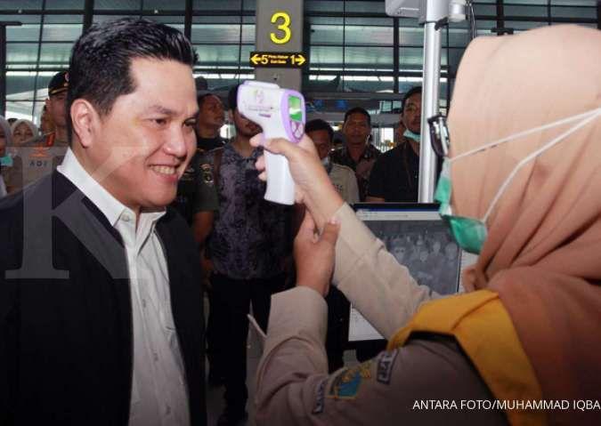 Menteri BUMN Erick Thohir bongkar direksi dan dewan pengawas Perum Perindo