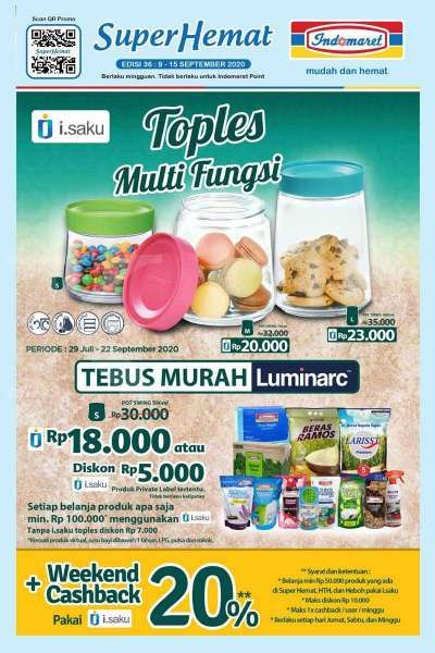 Promo Indomaret weekday hari ini 14 September 2020