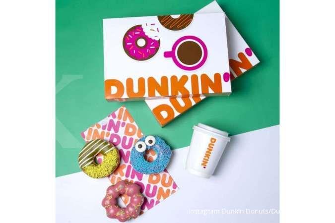 Promo Dunkin Donuts 22 Juni 2021, 12 donat dan 3 minuman Rp 110.000