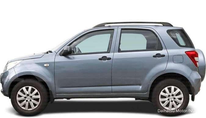 Harga mobil bekas Daihatsu Terios (Eksterior Samping)
