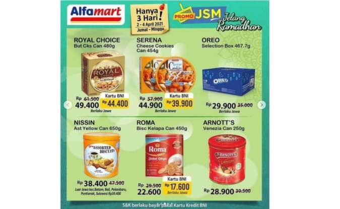 Promo JSM Alfamart 2-4 April 2021