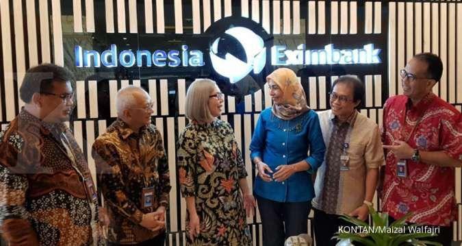 Juni 2019, laba Indonesia Eximbank turun 89,14%