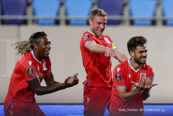 Jadwal kualifikasi Piala Dunia 2022 Portugal vs Luksemburg