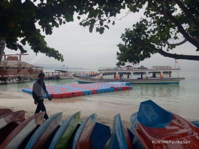 Heboh laut Lampung menyala biru di malam hari dan berbusa di siang hari, ada apa?