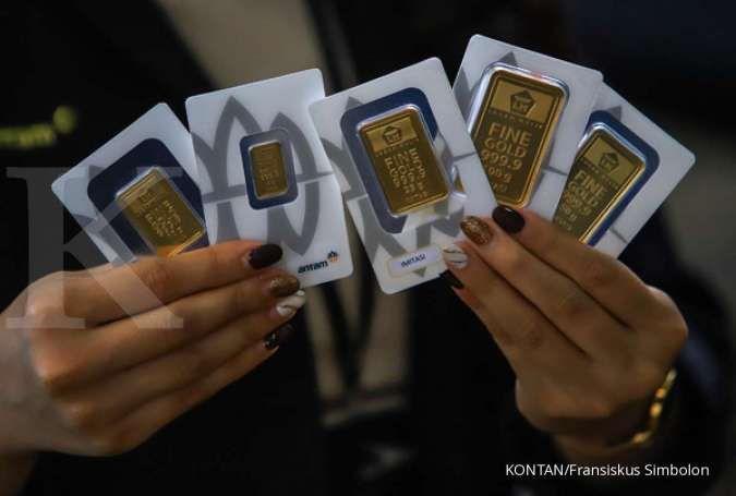 Harga emas hari ini di Butik Emas Antam turun Rp 7.000 per gram, 3 Februari 2021
