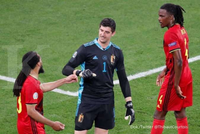 Jadwal Euro 2020 antara Belgia vs Portugal di babak 16 besar