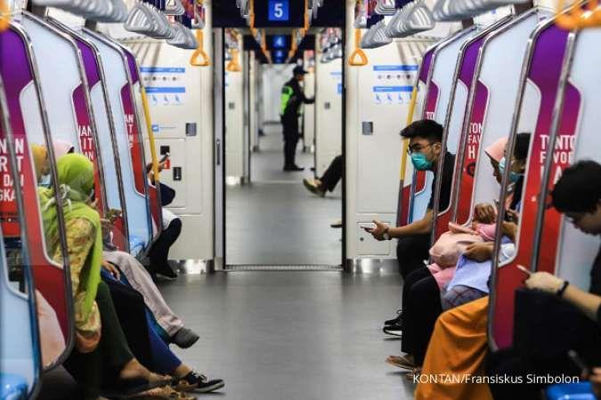 Pengetatan PPKM mikro, MRT, LRT, dan Transjakarta beroperasi hingga 21.00 WIB