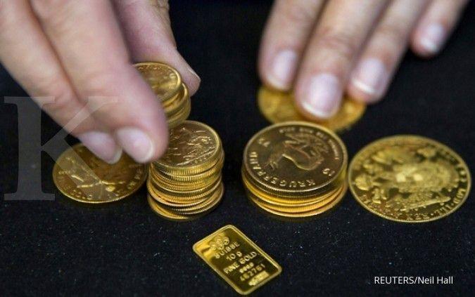 Emas terus merosot di tengah penguatan dollar AS