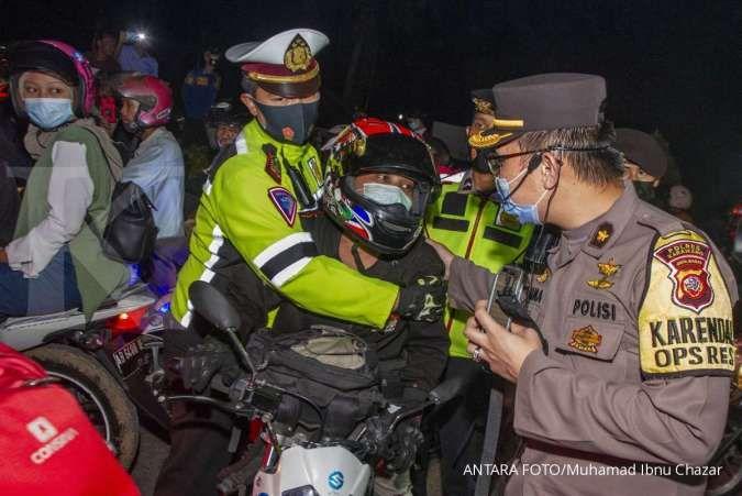 Satgas Covid-19: Polisi punya hak pulangkan warga yang nekat mudik