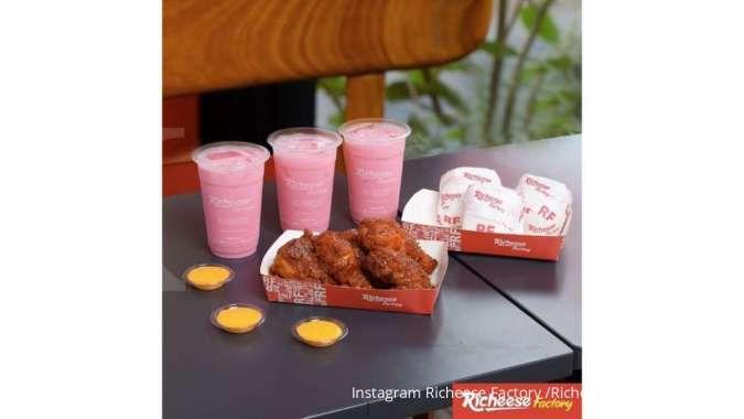 Promo Richeese Factory 10 Juni 2021, ada Paket Nikmat buat makan bersama Rp 122.727
