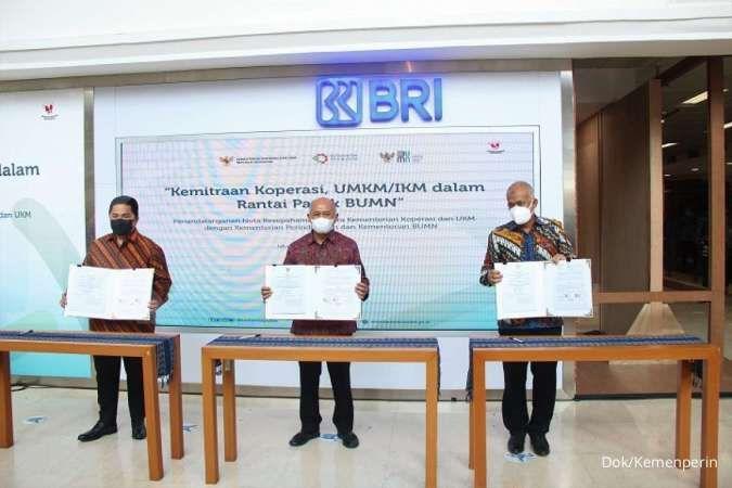 Tiga kementerian siap bantu UMKM tembus pasar ekspor lewat kemitraan dengan BUMN
