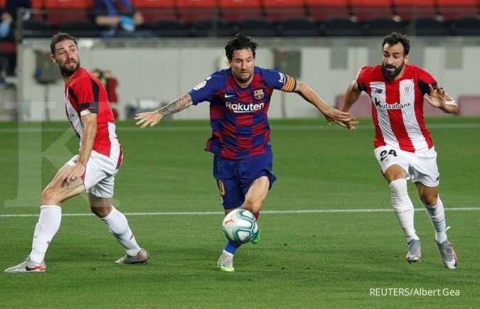 LaLiga menghadang, kini hanya ada 2 cara Messi pergi dari Barcelona