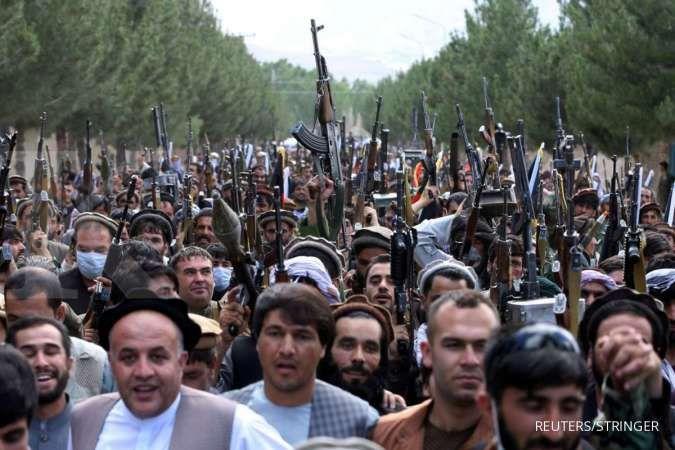 AS khawatir konflik Afghanistan berkembang menjadi perang sipil