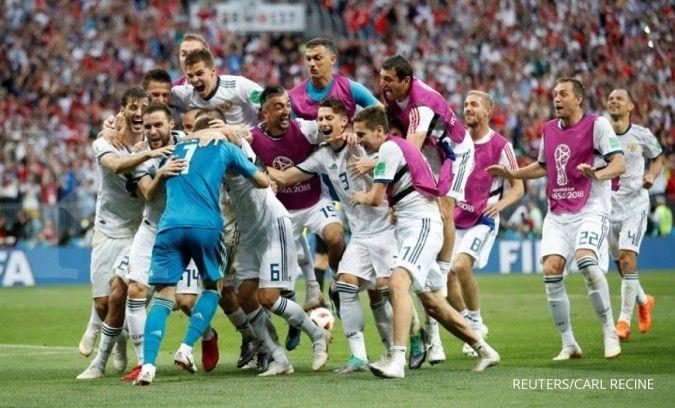 Jelang laga Belgia vs Rusia di Euro 2021