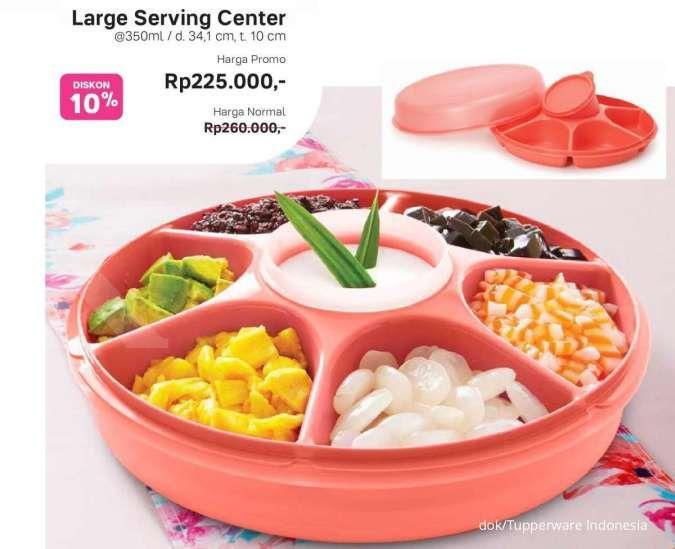 Promo Tupperware Maret 2021, harga hemat produk Bloomia, Sweet Berries, Large Serving