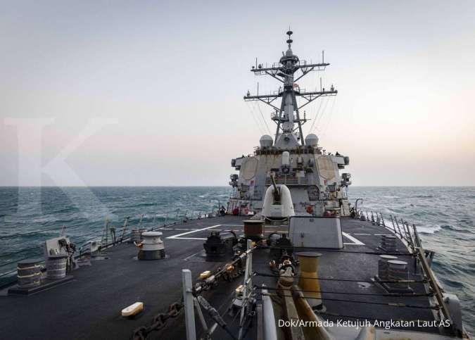 Peringatan keras! AS-China menuju konflik militer besar di Laut China Selatan