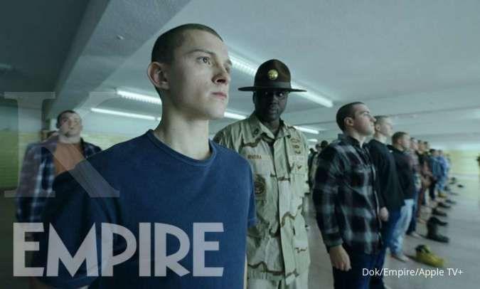 Digarap sutradara Avengers: Endgame, Tom Holland masuk militer di film Cherry