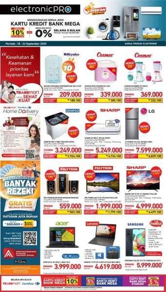 Promo Transmart Carrefour 18 22 September 2020 Hemat 5 Hari