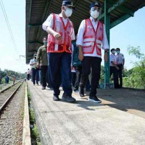 Menhub Pastikan Reaktivasi Stasiun KRL Pondok Rajeg Tetap Berjalan di Tengah Pandemi