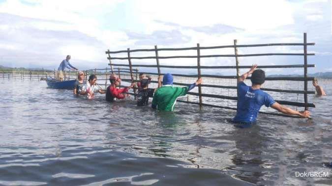Rehabilitasi mangrove ikut mendongkrak penghasilan nelayan