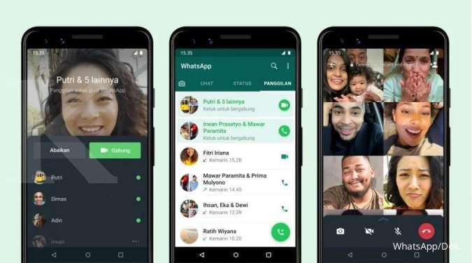 Panggilan video WhatsApp
