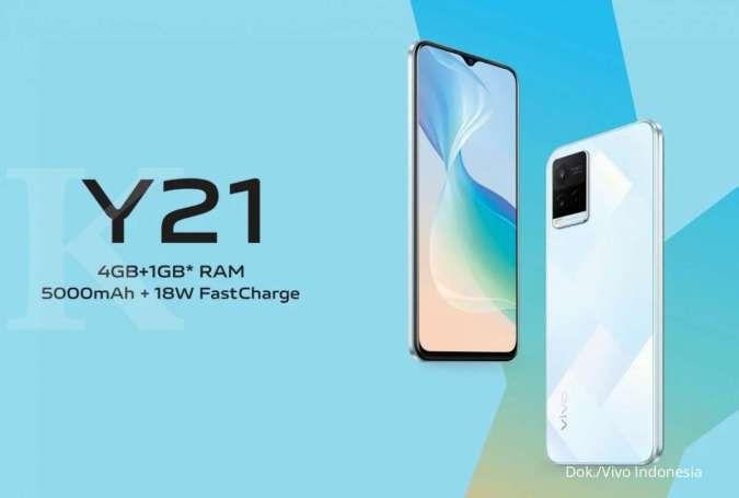 Spesifikasi & harga HP Vivo Y21: Hanya Rp 2 jutaan dengan teknologi Extended RAM