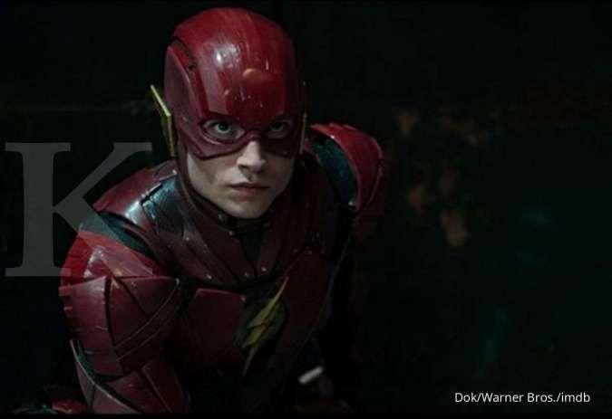 Film The Flash yang dibintangi Ezra Miller undur jadwal tayang hingga tahun 2020.