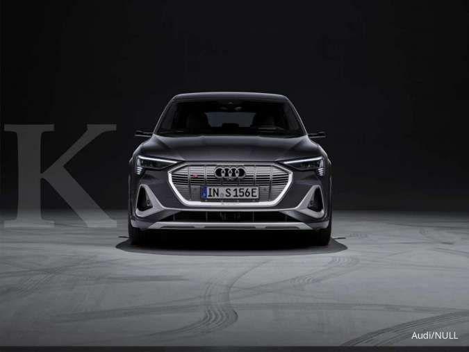 Pertama di dunia, Audi rilis mobil listrik dengan tiga mesin sekaligus