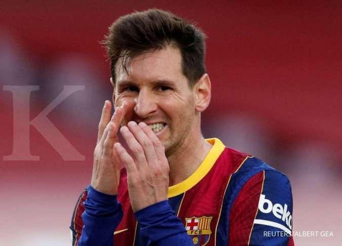 Joan Laporta siap umumkan kontrak Lionel Messi di Barcelona awal bulan depan