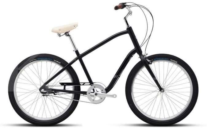 Usung gaya retro, harga sepeda Polygon Zenith Town i3 masih cukup terjangkau