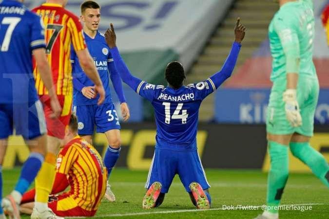 Jelang laga Man United vs Leicester City di Liga Inggris