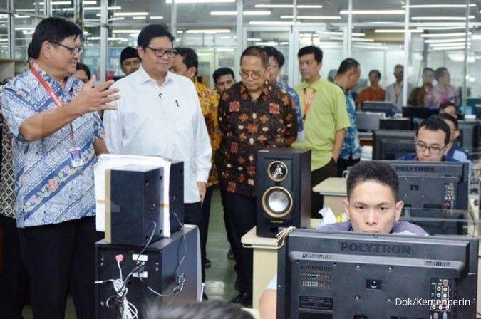 Kunjungi pabrik Polytron, Menperin minta industri kembangkan teknologi