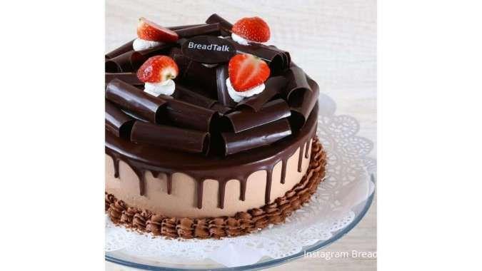 Ada penawaran cake utuh mulai Rp 145.000 di promo BreadTalk 11 Juni 2021!